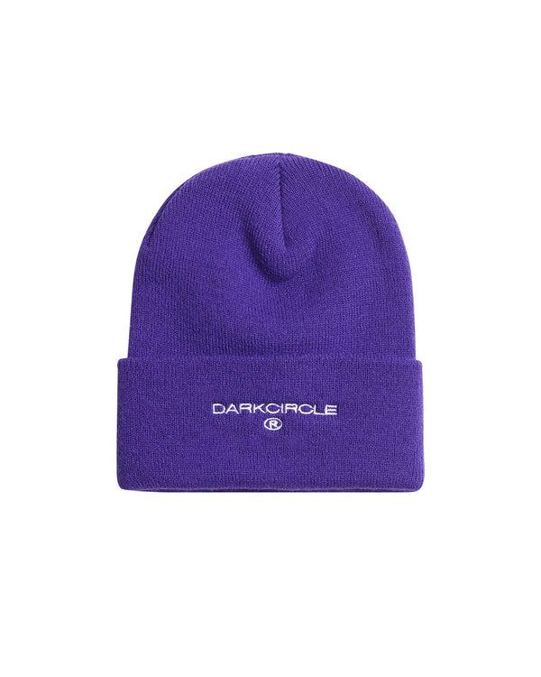 Heritage Beanie - Purple Accessories DARKCIRCLE®