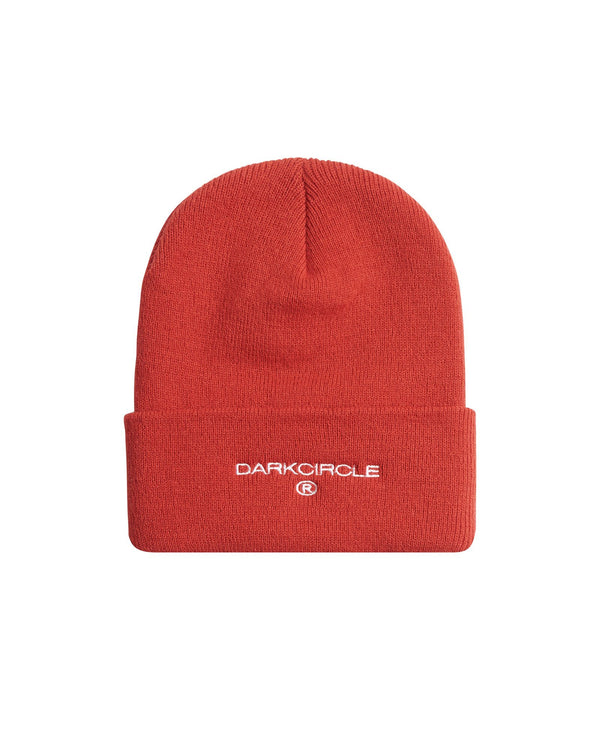Heritage Beanie - Red Accessories DARKCIRCLE®