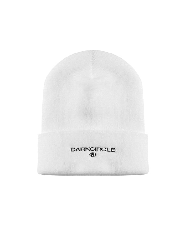 Heritage Beanie - White Accessories DARKCIRCLE®