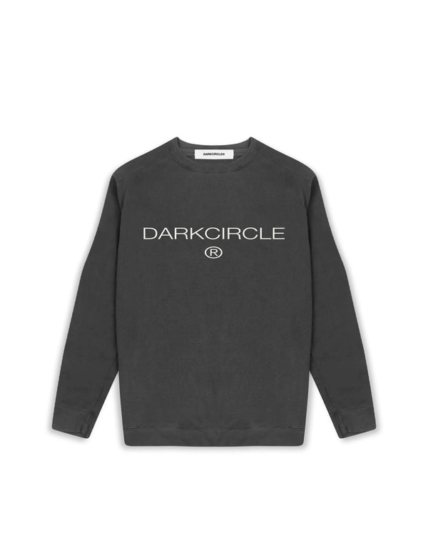 Heritage Pigment Sweatshirt - Washed Charcoal Sweatshirt DARKCIRCLE®