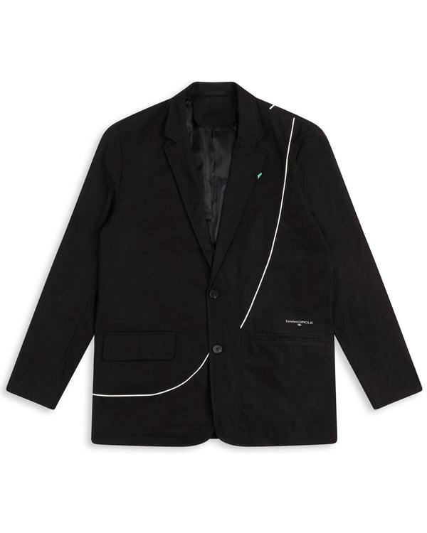 Heritage Suit Blazer - Black Cut & Sew Dark Circle Clothing