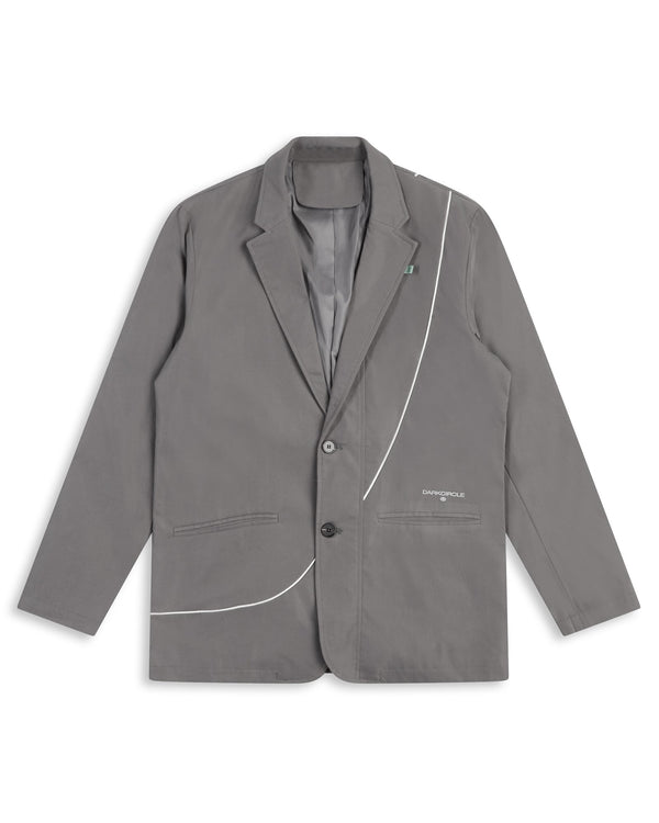 Heritage Suit Blazer - Grey Cut & Sew Dark Circle Clothing