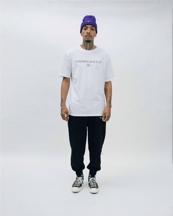 Heritage T-Shirt - White T-shirt Dark Circle Clothing