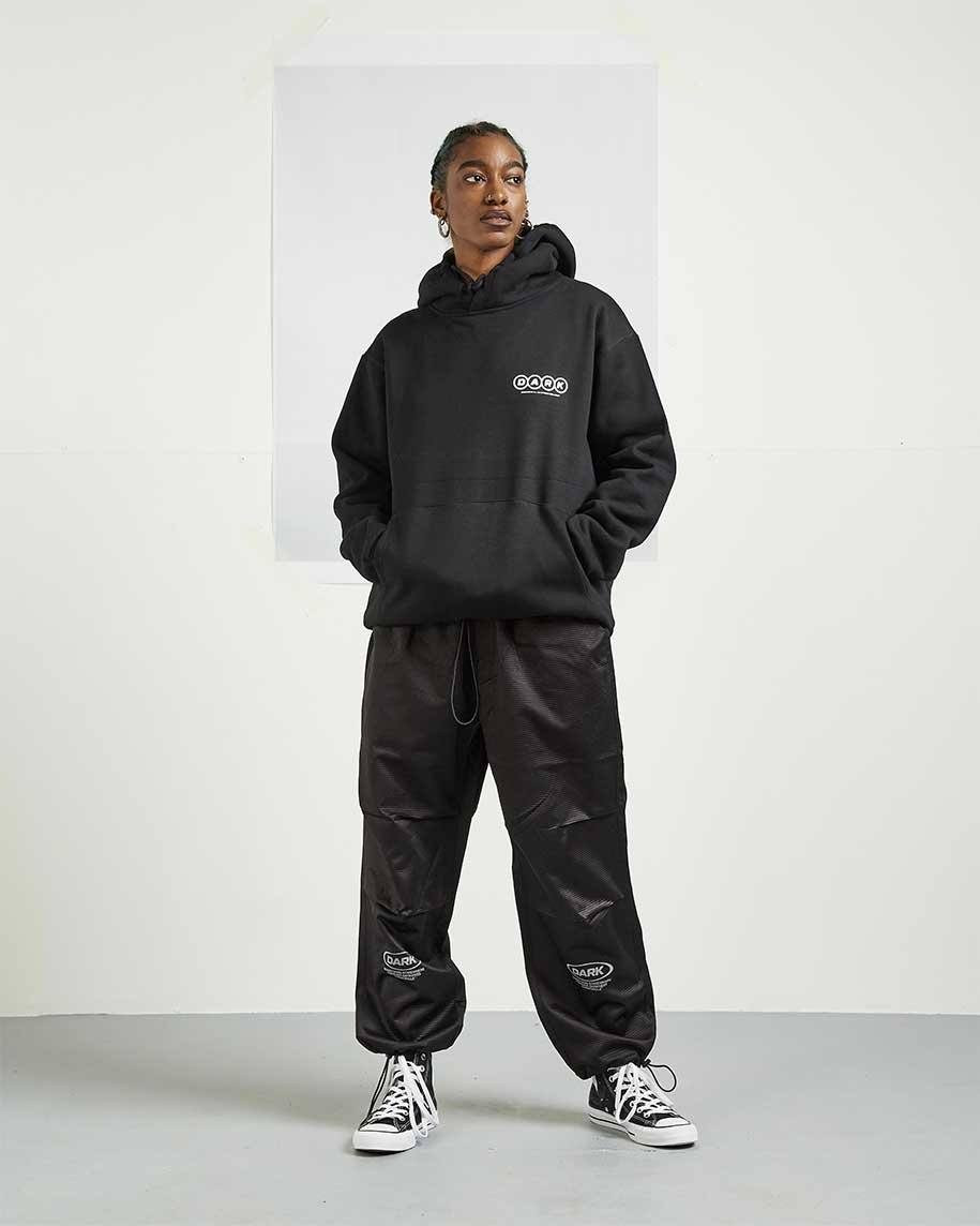 Hori-Cord Track Pants - Black trousers Dark Circle Clothing
