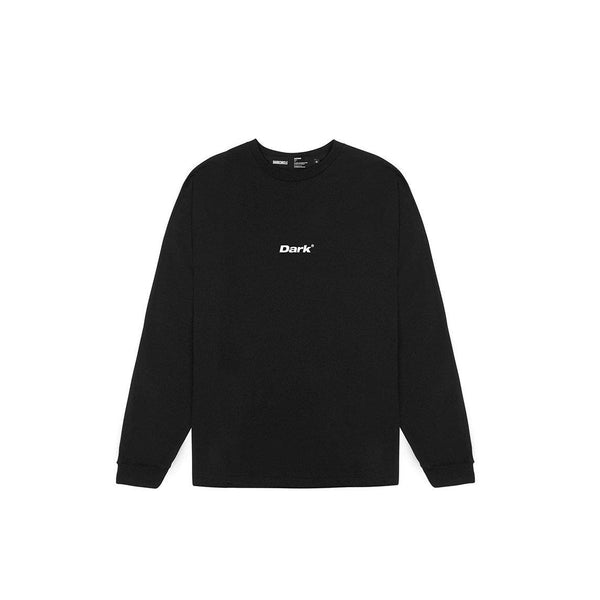 Lower - Black Long Sleeve T-Shirt T-shirt Dark Circle Clothing