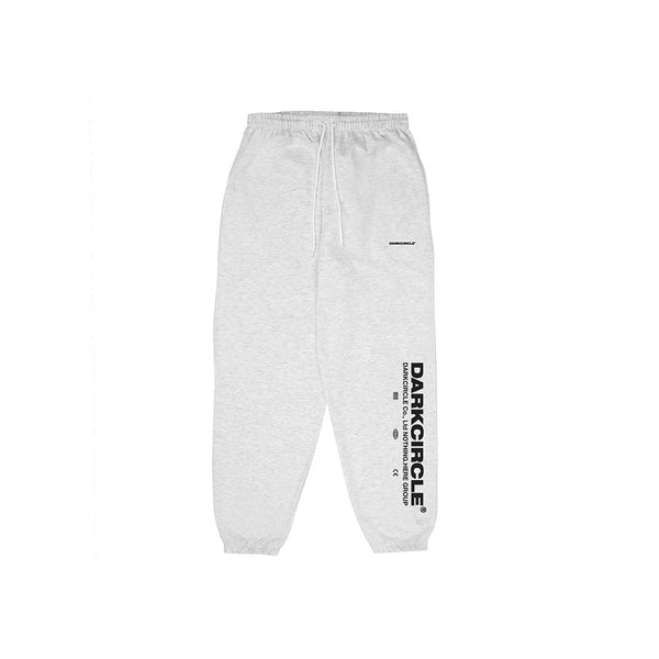 Lower Sweat pants - Arctic Grey trousers Dark Circle Clothing