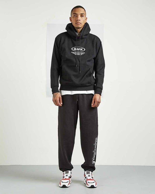 Lower Sweat Pants - Black trousers Dark Circle Clothing