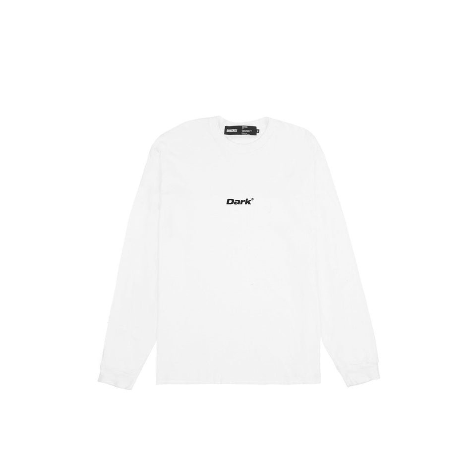 Lower - White Long Sleeve T-Shirt T-shirt Dark Circle Clothing