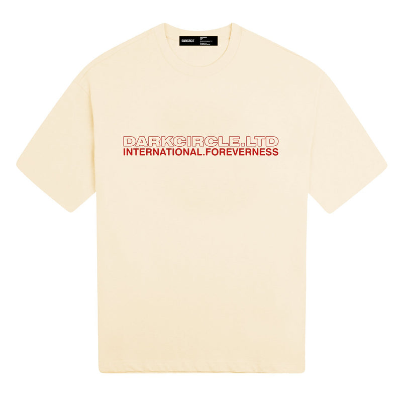 Neue International - Cream T-shirt DARKCIRCLE®