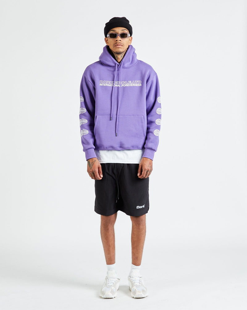 Neue International Hoodie - Purple Hoodie DARKCIRCLE®