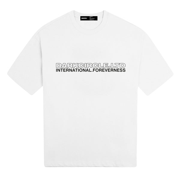 Neue International - White T-shirt DARKCIRCLE®