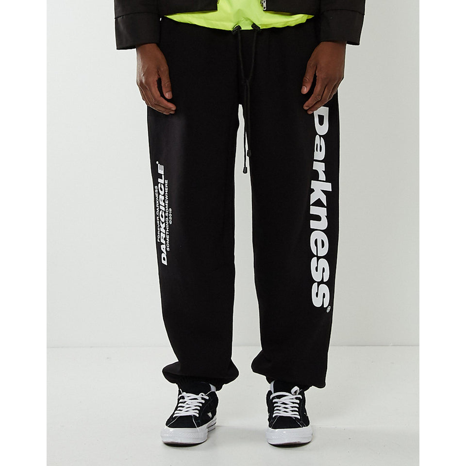 Neue Line joggers - Black Bottoms Dark Circle Clothing