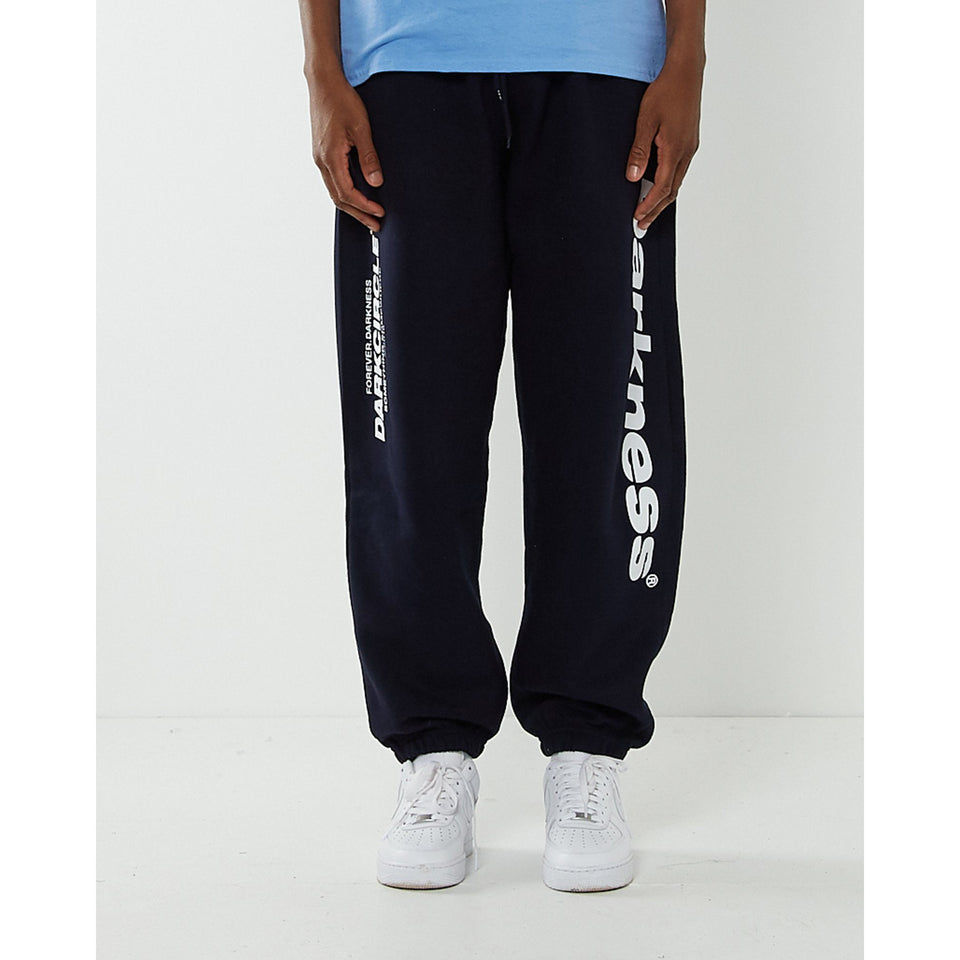 Neue Line joggers - Navy Bottoms Dark Circle Clothing