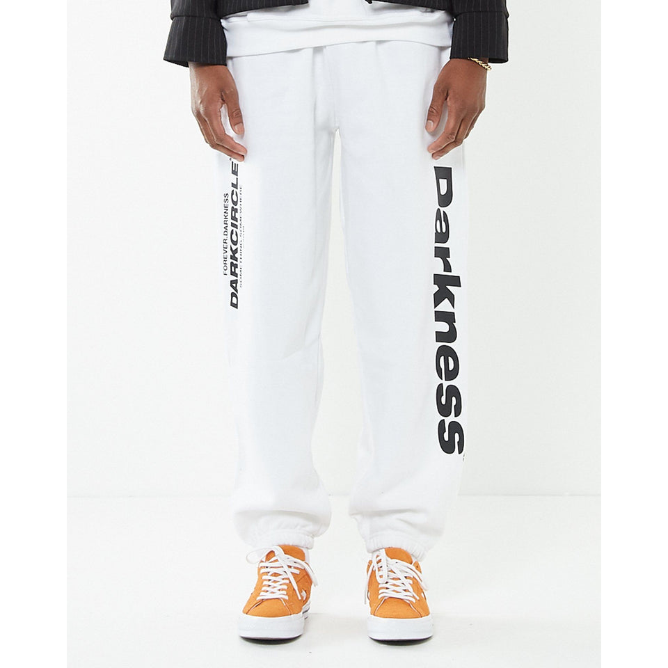 Neue Line joggers - White Bottoms Dark Circle Clothing