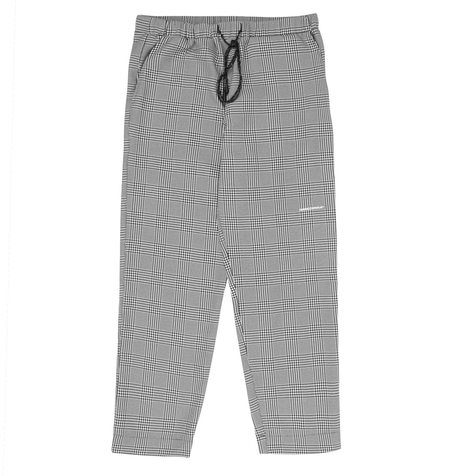 Neue Line Slacks - P.O.W Plaid Bottoms Dark Circle Clothing