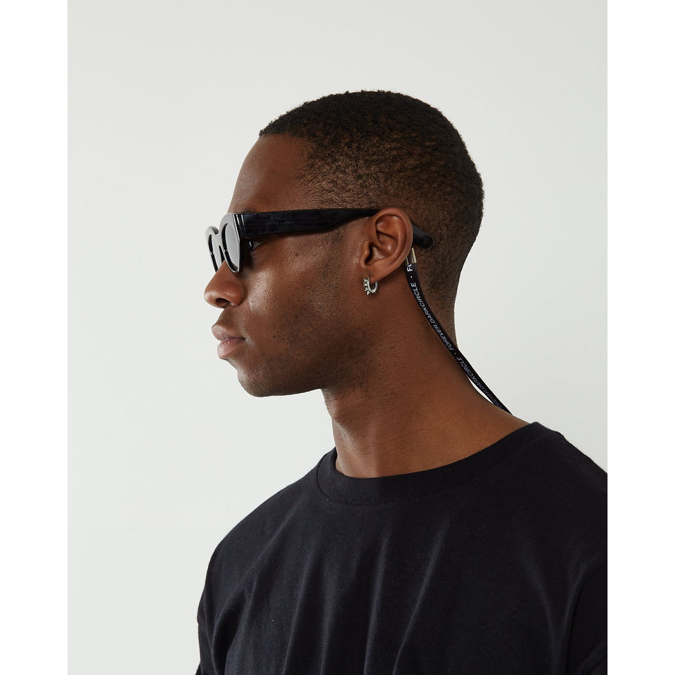 Neue Line sunglasses - Black accessorie Dark Circle Clothing