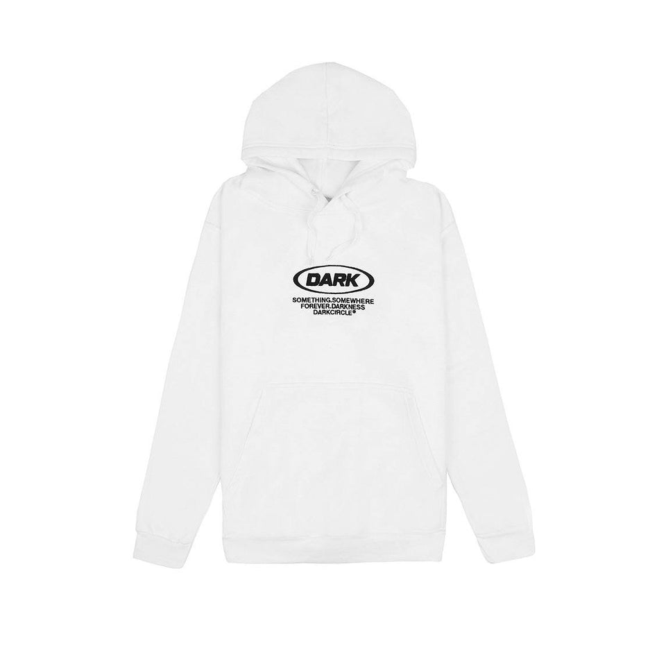Neue Ovoid - Hoodie White Hoodie Dark Circle Clothing
