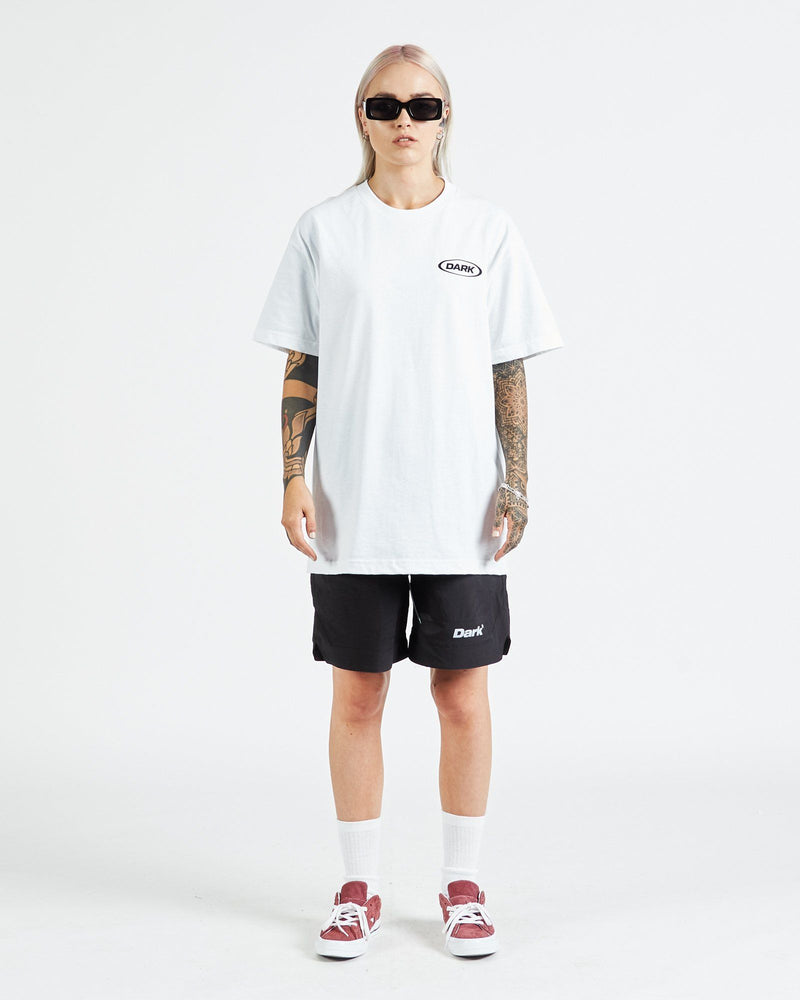 Neue Ovoid - White T-shirt DARKCIRCLE®