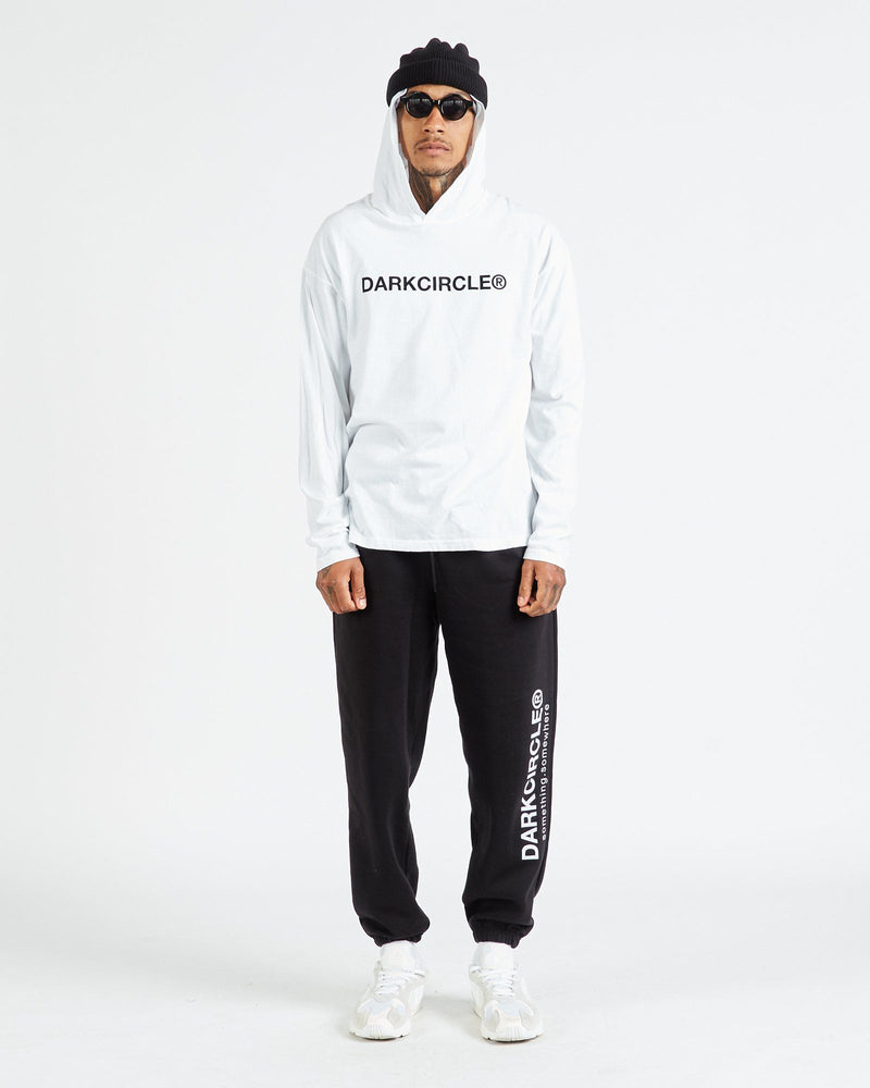 Neue Registered Hooded L/S - White T-shirt DARKCIRCLE®