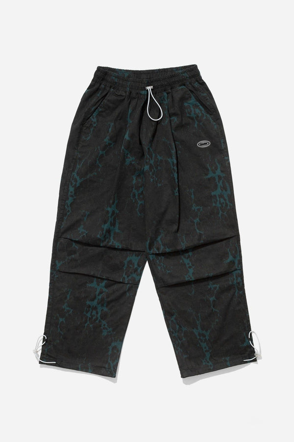 Night Leopard Slacks - Black Pants DARKCIRCLE®