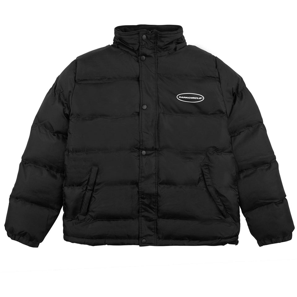 Oval Hooded Down Jacket - Black Outerwear Dark Circle Clothing