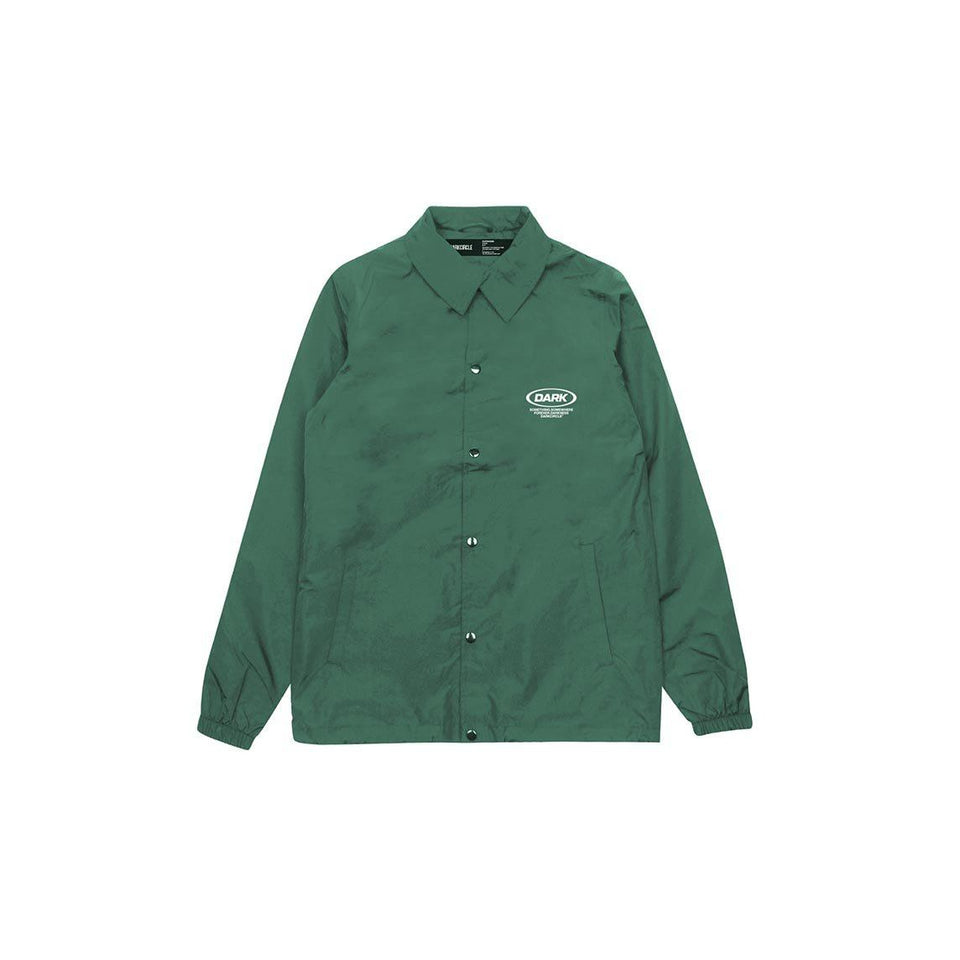 Ovoid Coached Jacket - Green Outerwear DARKCIRCLE®