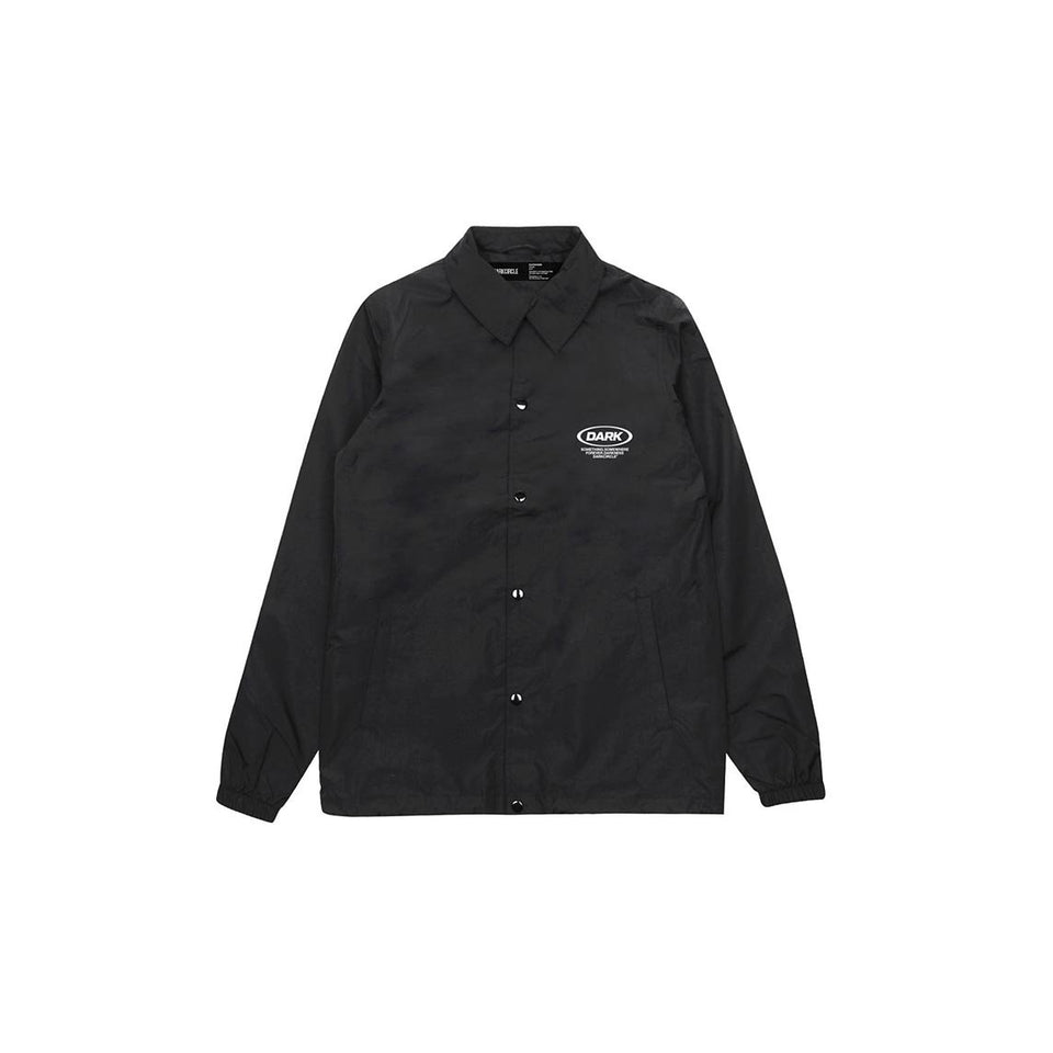 Ovoid Coaches Jacket - Black Outerwear DARKCIRCLE®