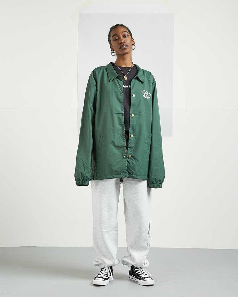 Ovoid Coaches Jacket - Green Outerwear DARKCIRCLE®