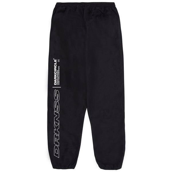 Ovoid Tracksuit Bottom - Black Bottoms Dark Circle Clothing