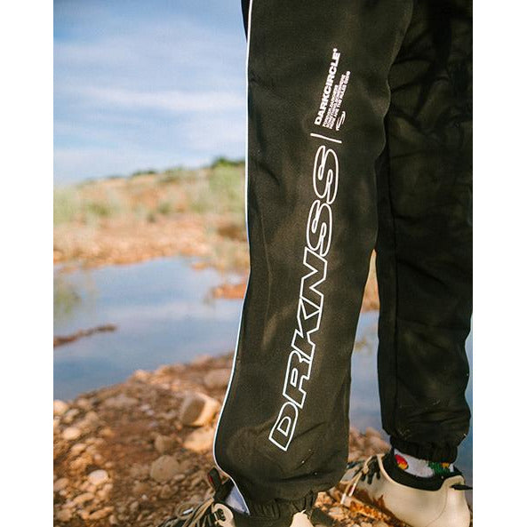 Ovoid Tracksuit Bottom - Black Pants Dark Circle Clothing