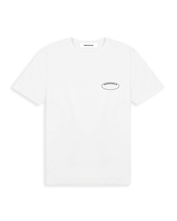 Paradise T-Shirt - White T-shirt Dark Circle Clothing