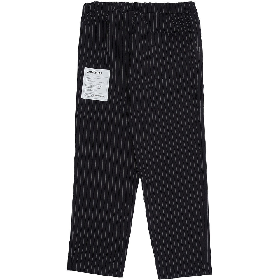 Pinstripe Cozy Pant 2.0 - Black/White Pants Dark Circle Clothing