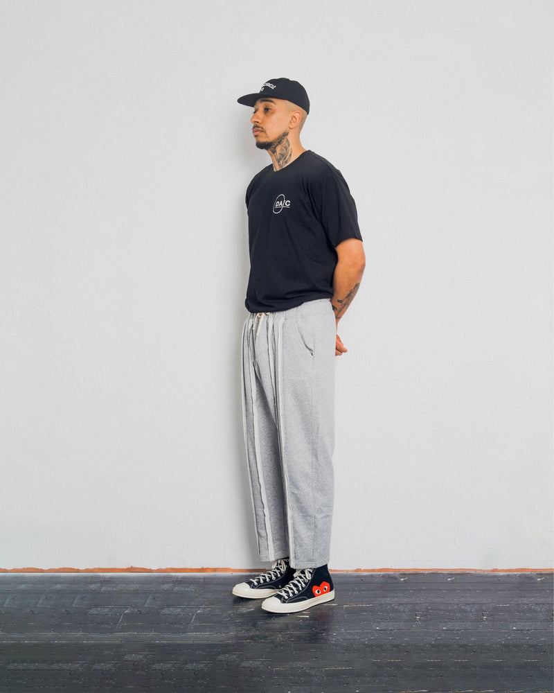 Pleated Joggers - Heather Grey Pants DARKCIRCLE®