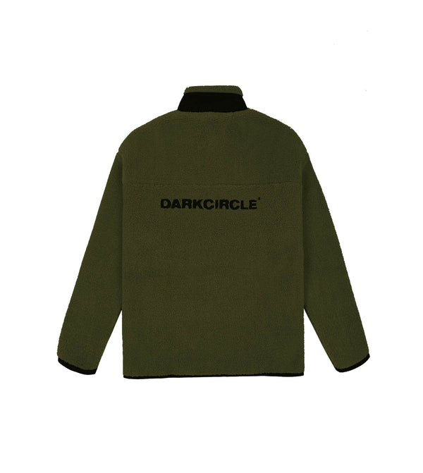 Polar Fleece - Green Fleece Dark Circle Clothing
