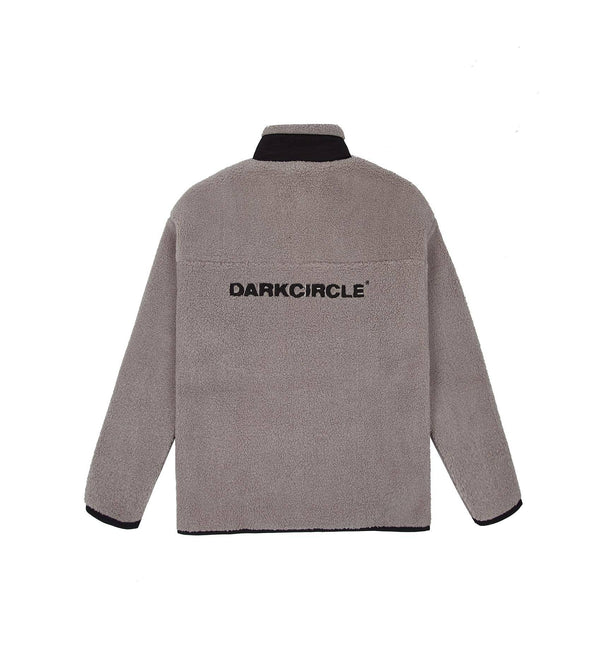 Polar Fleece - Light Grey Fleece Dark Circle Clothing