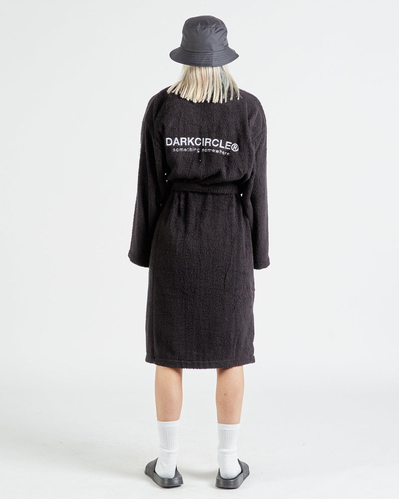 Registered Bath Robe - Black Robe DARKCIRCLE®