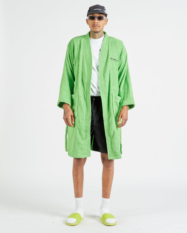 Registered Bath Robe - Lime Robe DARKCIRCLE®