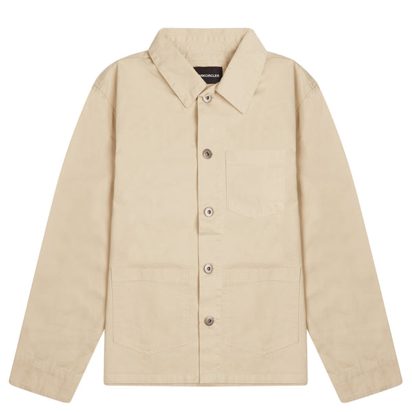 Registered Chore Jacket - Beige T-shirt DARKCIRCLE®