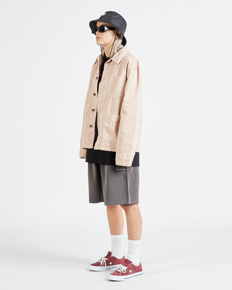 Registered Chore Jacket - Dusty Pink Outerwear DARKCIRCLE®