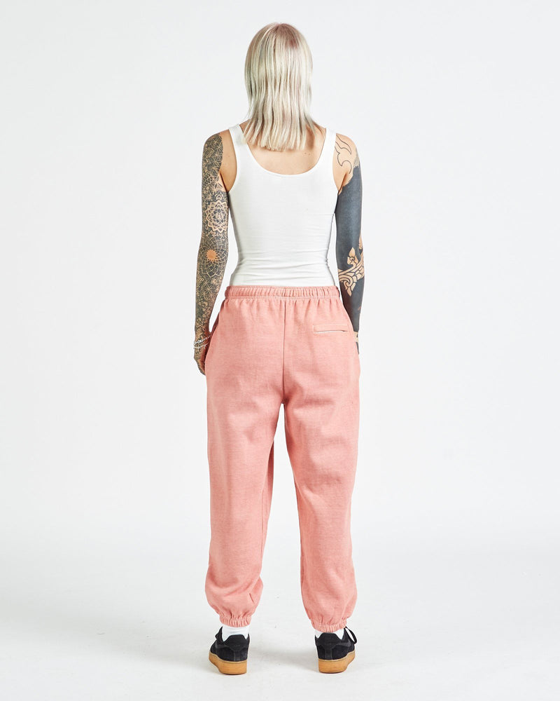 Registered Joggers - Dahlia Peach Pants DARKCIRCLE®