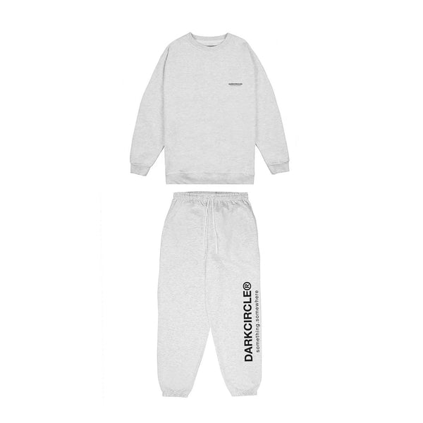 Registered Lounger Tracksuit Set- Arctic Grey trousers Dark Circle Clothing
