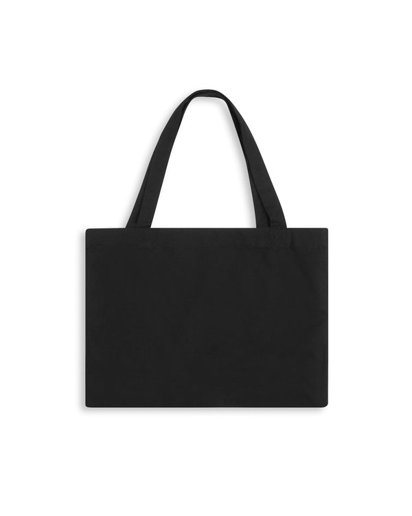 Registered Tote Bag - Black Accessories Dark Circle Clothing