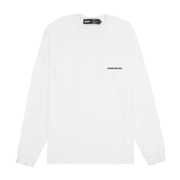 Reign Forever: Long Sleeve - White T-shirt DARKCIRCLE®