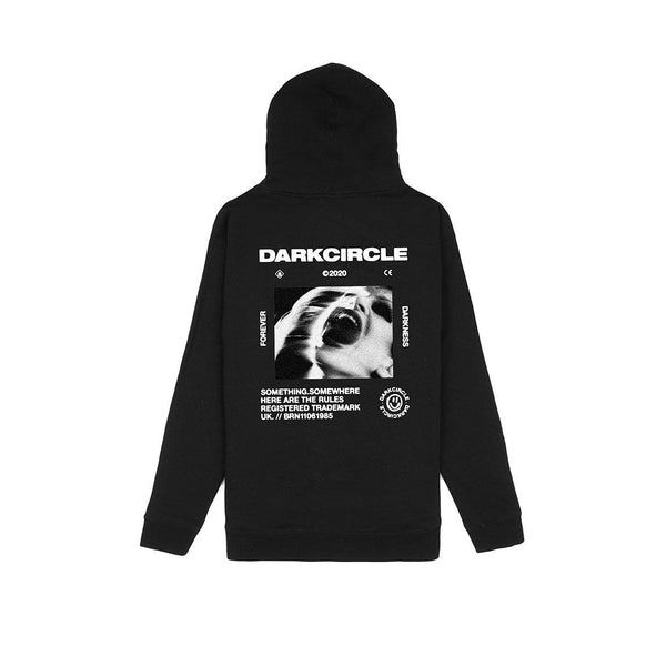 Screaming - Hoodie Black Hoodie Dark Circle Clothing