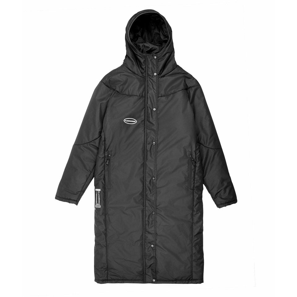 Sideline warmer coat - Black Dark Circle Clothing