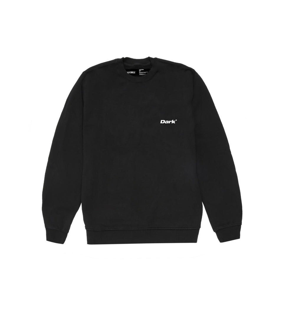 Since Day Crewneck - Black Hoodie Dark Circle Clothing