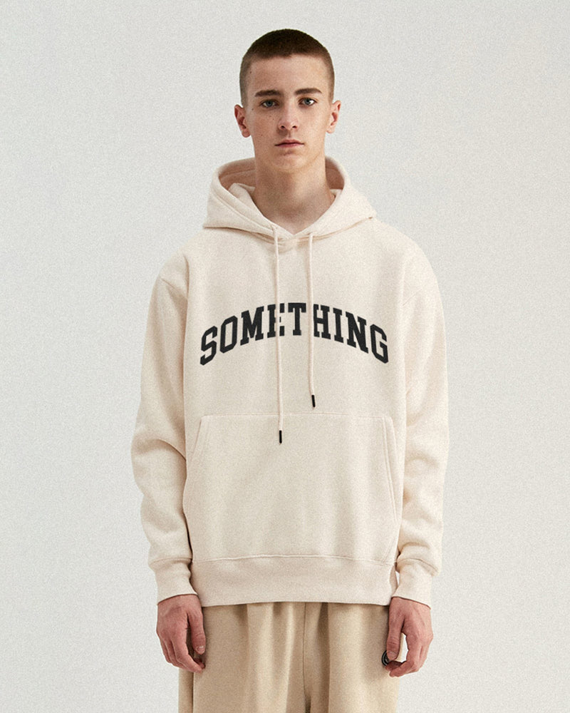 SOMETHING Hoodie - Apricot Hoodie DARKCIRCLE®