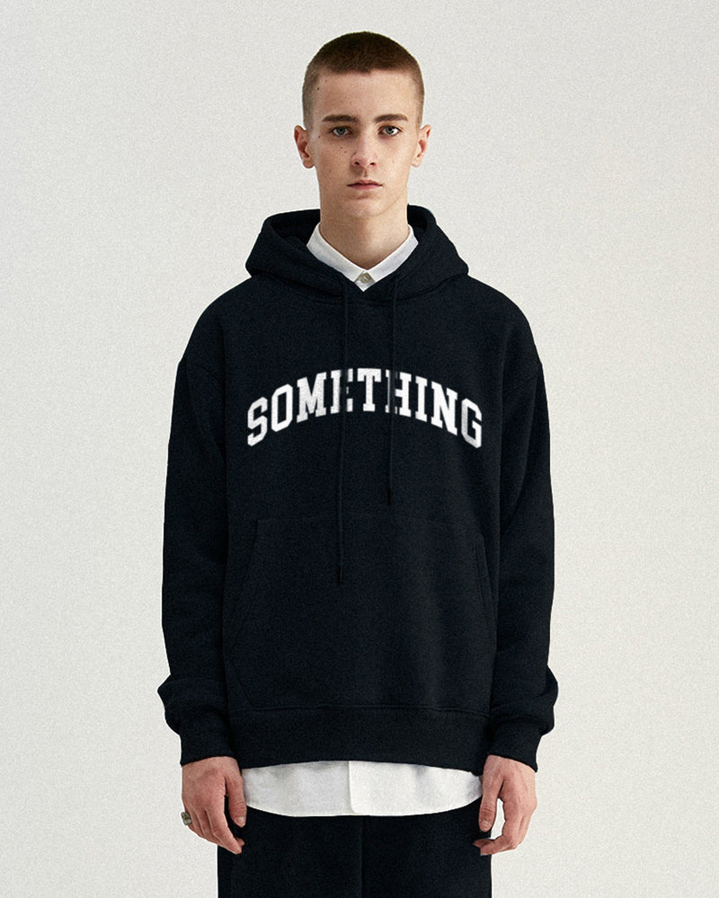 SOMETHING Hoodie - Black Hoodie DARKCIRCLE®