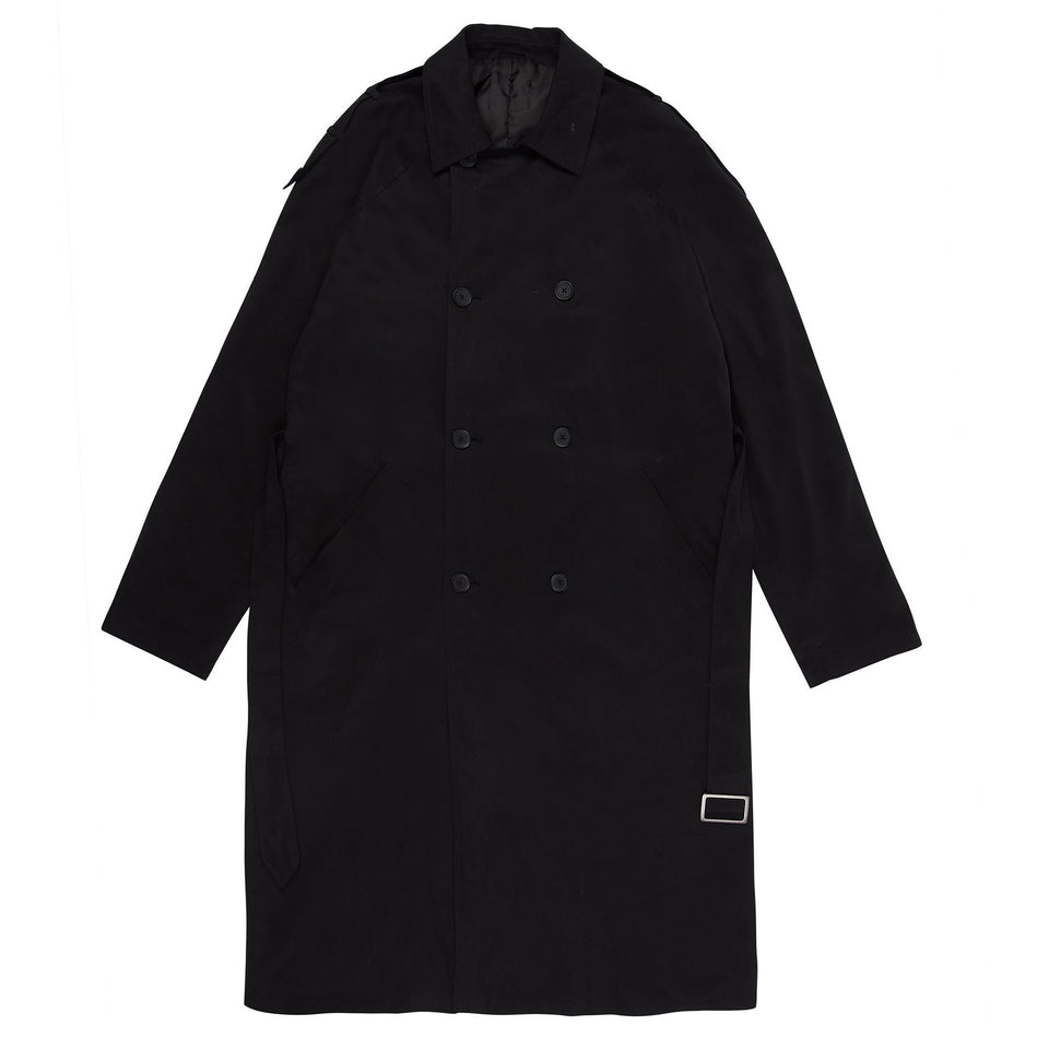 Something Somewhere Trench Coat - Black Outerwear Dark Circle Clothing