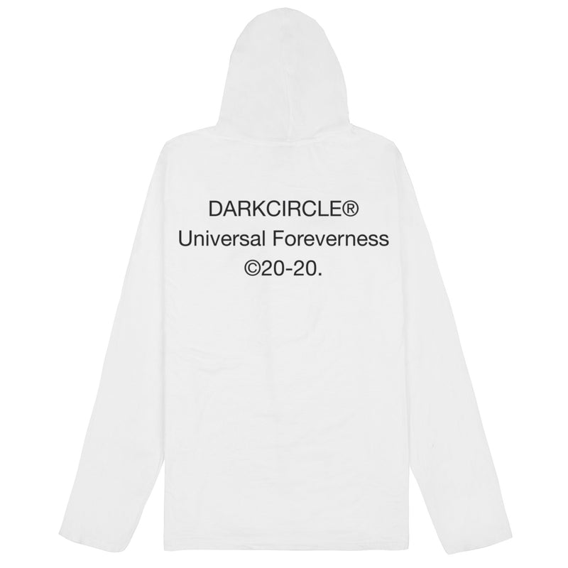 Summer Dreaming Hooded L/S - White T-shirt DARKCIRCLE®
